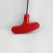 CRESTGOLF 70cm Double-Way Rubber Golf Putter ,Regular,Right & Left Handed