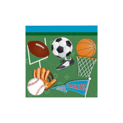 Sports Party Supplies Beverage Napkins