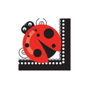 Ladybug Beverage Napkins (16 Pack) - Party Supplies