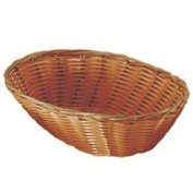 Set of 4 Update International BB-97 Woven and Bread Natural Colour Basket, Oval, 24cm