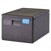Cambro EPP180SW110 Cam GoBox Top-Loader Food Pan Carrier, Black