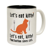 Let's Eat Kitty - Punctuation Saves the Cat!