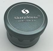 6.4cm Sharpstone Version 2.0 4pc Solid Top Grinder - New, Improved & Redesigned!