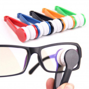 5Pcs Portable Mini Microfiber Glasses Cleaner Microfiber Spectacles Sunglasses Eyeglass Cleaner Clean Wipe Tools