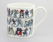 Picturemaps Shakespeare mug / cup - by McLaggan Smith Mugs