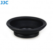 JJC EN-5K Silicone Eyecup for Nikon Nikon D5, D500, D810A, D810, Df, D4S, D800E, D4, D800, D2 Series, D3 Series etc. Camera - Replaces Nikon DK-19