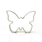 Butterfly Cookie Cutter 6.5 cm, Pastry Cutter, Stainless Steel