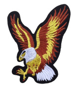 Flying Eagle Embroidered Sew or Iron On Patch Applique