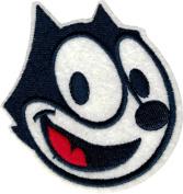 Felix the Cat - Face Shot - Iron Sew On Patch / Applique