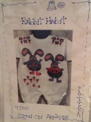 Rabbit Habit - Iron-on Applique pattern