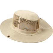 Butterme Outdoor Ripstop Sun Hat Bush Hat Fishing Hat Camouflage Bucket Mesh Boonie Hat
