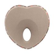 Starworld Baby Pillow, Shaping Pillow for Newborn Baby Sleeping Memory Infant Support, Anti-migraine Foam Crib Travel Headrest / Khaki