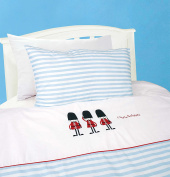 Cot bed duvet cover bedding set - Royal guard