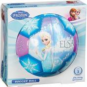 Franklin Sports Disney Frozen Size 3 Soft Foam Air Tech Soccer Ball - Elsa/Anna Model
