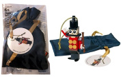 LEGO Toy Soldier Christmas Tree Decoration 5004420, includes storage bag. 2016 Limited Edition