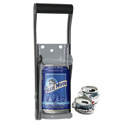 THE EASY #1 CAN CRUSHER - Heavy Duty 470ml Pull Aluminium Soda Beer Recycling Compactor