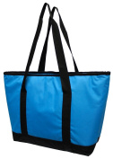 Earthwise Extra Large Heavy Duty Nylon Insulated Thermal Grocery Shopping Bag Tote with Waterproof Lining