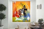 blindecor w-j-87564 - Roller Translucido Digital Print, 130 x 180 cm