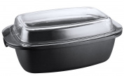 KOPF 124177 Roasting pan Pic, aluminium casting, 40 x 22 cm, 5.2 litres, induction