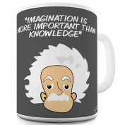 Twisted Envy Albert Einstein Knowledge Ceramic Tea Mug
