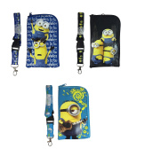 Despicable Me Minion ID Holder Lanyard set of 3