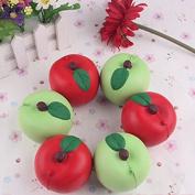 5CM Apple Kawaii Squishy Fruit Fun Toys Soft Gift Cafe Decoration
