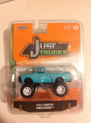 Jada 1:64 Just Trucks 1972 Chevy Cheyenne Teal #080