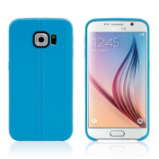 Galaxy S6 Edge Case, Asstar [Stand Feature] Ultra Slim Thin Shock Absorbing Flexible Back Cover With High Quality Soft TPU Case for Samsung Galaxy S6 Edge