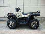 DONGFANG 300cc ATV Cougar CVT Water Cooled Four Wheelers 4 Stroke Engine Quads Green Camo