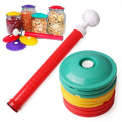 9 In 1 Set Jar Sealers Vacuum Sealing Sealer Food Saving Storage Bags Keep Food Fresh Canning Set