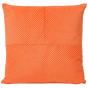 Riva Home Infinity Coral Orange 55x55cm Cushion Cover