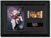 Suicide Squad 35 mm Framed Film Cell Display Stunning Collectible Harley Quinn S11