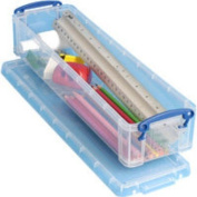 Realuse 1.5L Really Useful Pencil/ Stationery Box - Clear
