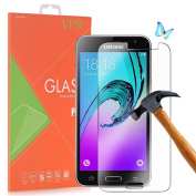 VPR Premium Tempered Glass Screen Protector for Samsung Galaxy J3 [Ultra-Clarity] [Highly Responsive] [No-Bubble Installation] with Lifetime Replacement Warranty