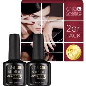 CND Shellac UV/LED Power Polish, Xpress5 Top Coat 7.3 ml - Pack of 2
