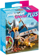 Playmobil 5371 Specials Plus Viking Toy with Treasure