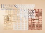 Auhagen 48647 Windows/Frames/Doors Modelling Kit