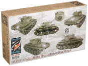 AFV Club DH96011 - Model Kit T77 Multiple Gun Motor Carriage