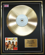 THE SWEETS/Cd Gold Disc Record Limited Edition/GREATEST HITS