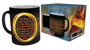 GB eye Lord of The Rings, One Ring, Heat Changing Mug