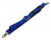 Benristraps 25mm Bag Strap, Metal Buckles, Shoulder Pad, 1.5 Metres