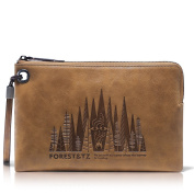 Amazon Forest Embossed Wallet-Mens leather Wallet-iPad Sleeve-Full Grain Leather-Women's Clutch