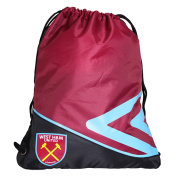 Umbro West Ham FC Official Football Crest Drawstring Gym Bag