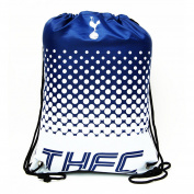 Tottenham Hotspur FC Official Fade Football Crest Drawstring Sports/Gym Bag