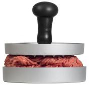Aeg AHP01 Premium Burger Press Die-Cast Aluminium with Non-Stick Coating & Comfort Wooden Handle + Greaseproof Paper 20 Sheets/Hamburger Press/Hamburger/Burger Maker/LFGB Certified