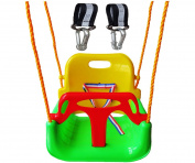 Littlefun 3-in-1 Infant to Teenage Detachable Upgrade Version Swing Set for Home Garden Padio Indoors Outdoors
