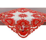 Christmas Santa Claus Table Runner And Dresser Scarf (33 X 33 inch)