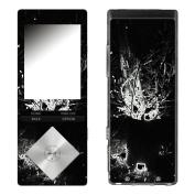 """Disagu Design Skin for Sony NWZ-A15 - motif """"Black Burn"""""""