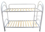 baldiflex Bunk Bed with ORTHOPAEDIC Wooden Slatted Base Model dolcilune