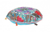 Handmade IndianTraditional Home Decorative pouffe Comfortable Floor Ottoman